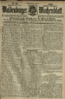Waldenburger Wochenblatt, Jg. 47, 1901, nr 48