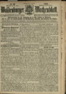 Waldenburger Wochenblatt, Jg. 47, 1901, nr 49