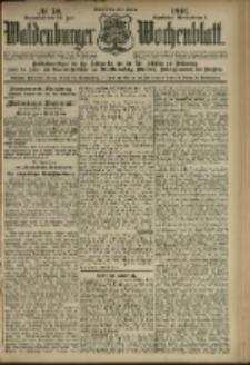 Waldenburger Wochenblatt, Jg. 47, 1901, nr 50