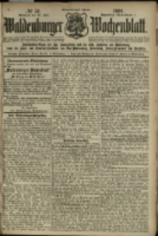Waldenburger Wochenblatt, Jg. 47, 1901, nr 51