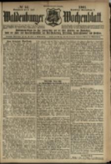 Waldenburger Wochenblatt, Jg. 47, 1901, nr 54