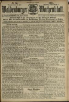 Waldenburger Wochenblatt, Jg. 47, 1901, nr 56