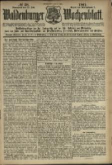 Waldenburger Wochenblatt, Jg. 47, 1901, nr 58