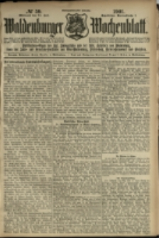Waldenburger Wochenblatt, Jg. 47, 1901, nr 59