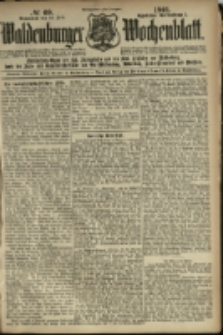 Waldenburger Wochenblatt, Jg. 47, 1901, nr 60