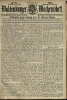Waldenburger Wochenblatt, Jg. 47, 1901, nr 61