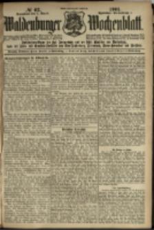Waldenburger Wochenblatt, Jg. 47, 1901, nr 62