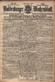 Waldenburger Wochenblatt, Jg. 47, 1901, nr 65