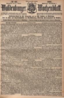 Waldenburger Wochenblatt, Jg. 47, 1901, nr 66