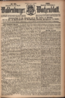 Waldenburger Wochenblatt, Jg. 47, 1901, nr 68