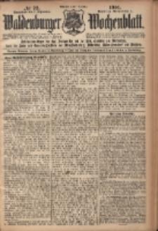 Waldenburger Wochenblatt, Jg. 47, 1901, nr 72