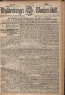 Waldenburger Wochenblatt, Jg. 47, 1901, nr 82