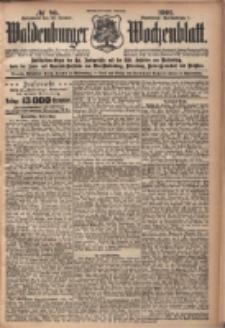 Waldenburger Wochenblatt, Jg. 47, 1901, nr 86