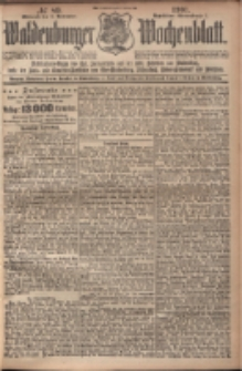 Waldenburger Wochenblatt, Jg. 47, 1901, nr 89