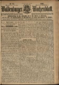 Waldenburger Wochenblatt, Jg. 47, 1901, nr 97