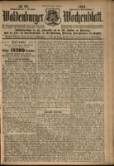 Waldenburger Wochenblatt, Jg. 47, 1901, nr 98