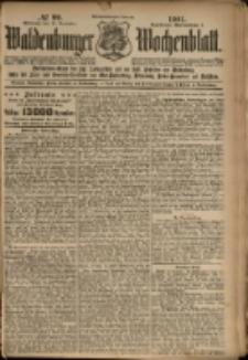 Waldenburger Wochenblatt, Jg. 47, 1901, nr 99