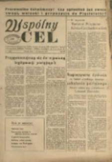 Wspólny cel : Organ Komitetu Zakładowego P.Z.P.R., Zarządu zakładów. ZMP, Rady Zakł. i Dyrekcji Jeleniogórskich Zakładów Celulozy Włókien Sztucznych im K. Gottwalda , 1955, nr 1 (64)