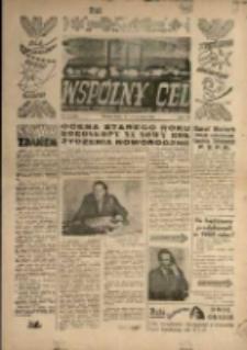 """Wspólny cel : Dwutygodnik samorządu robotniczego """"Celwiskozy"""" , 1959, nr 25 (120)"""