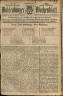 Waldenburger Wochenblatt, Jg. 51, 1905, nr 9