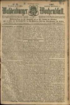 Waldenburger Wochenblatt, Jg. 51, 1905, nr 23