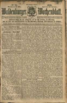 Waldenburger Wochenblatt, Jg. 51, 1905, nr 24