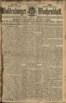 Waldenburger Wochenblatt, Jg. 51, 1905, nr 56