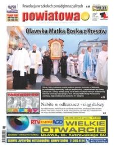 Gazeta Powiatowa - Wiadomości Oławskie, 2013, nr 36