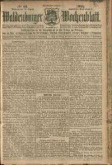 Waldenburger Wochenblatt, Jg. 51, 1905, nr 66