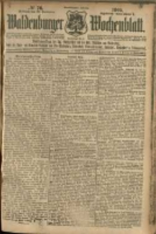 Waldenburger Wochenblatt, Jg. 51, 1905, nr 76