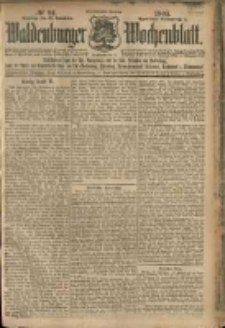 Waldenburger Wochenblatt, Jg. 51, 1905, nr 94