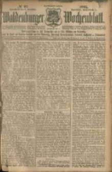 Waldenburger Wochenblatt, Jg. 51, 1905, nr 97