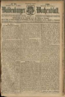 Waldenburger Wochenblatt, Jg. 51, 1905, nr 99