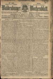 Waldenburger Wochenblatt, Jg. 51, 1905, nr 100