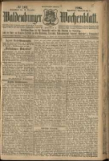 Waldenburger Wochenblatt, Jg. 51, 1905, nr 101