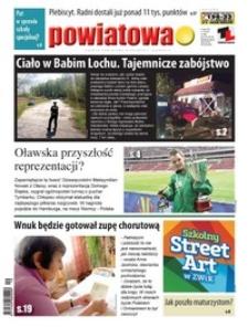Gazeta Powiatowa - Wiadomości Oławskie, 2014, nr 19