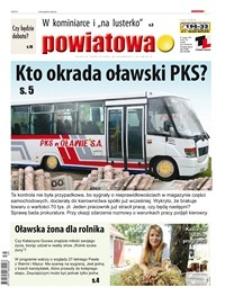 Gazeta Powiatowa - Wiadomości Oławskie, 2014, nr 39