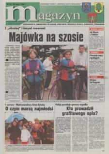 """Magazyn : Trzebnica, Oborniki Śląskie, Prusice, Wisznia Mała, Zawonia, Żmigród : bezpłatny dodatek do """"Robotniczej Gazety Wrocławskiej"""", 1998, nr 32 [29.05]"""