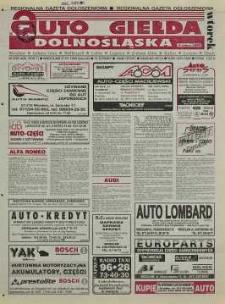 Auto Giełda Dolnośląska: regionalna gazeta ogłoszeniowa, 1998, nr 9 (436) [27.01]