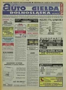 Auto Giełda Dolnośląska: regionalna gazeta ogłoszeniowa, 1998, nr 83 (508) [13.10]