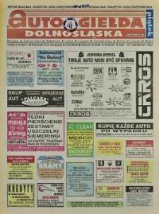 Auto Giełda Dolnośląska: regionalna gazeta ogłoszeniowa, 1998, nr 86 (511) [23.10]