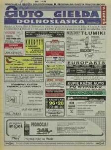Auto Giełda Dolnośląska: regionalna gazeta ogłoszeniowa, 1998, nr 91 (516) [10.11]