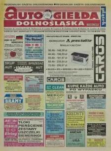 Auto Giełda Dolnośląska: regionalna gazeta ogłoszeniowa, 1998, nr 96 (521) [27.11]