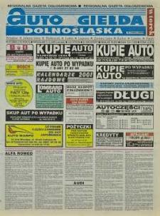 Auto Giełda Dolnośląska : regionalna gazeta ogłoszeniowa, 2000, nr 97 (725) [5.12]