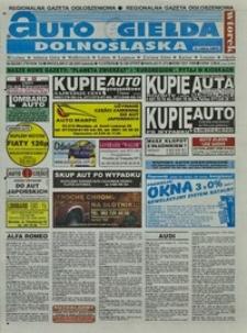 Auto Giełda Dolnośląska : regionalna gazeta ogłoszeniowa, 2001, nr 66 (795) [21.08]