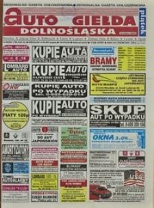 Auto Giełda Dolnośląska : regionalna gazeta ogłoszeniowa, 2001, nr 69 (798) [31.08]