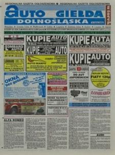 Auto Giełda Dolnośląska : regionalna gazeta ogłoszeniowa, 2001, nr 83 (811) [16.10]