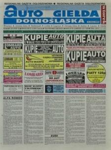 Auto Giełda Dolnośląska : regionalna gazeta ogłoszeniowa, 2001, nr 86 (814) [23.10]