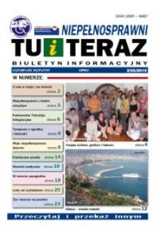 Niepełnosprawni Tu i Teraz : biuletyn informacyjny, 2010, nr 2 (35)