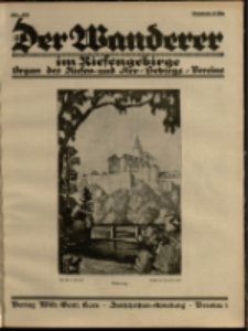 Der Wanderer im Riesengebirge, 1928, nr 7